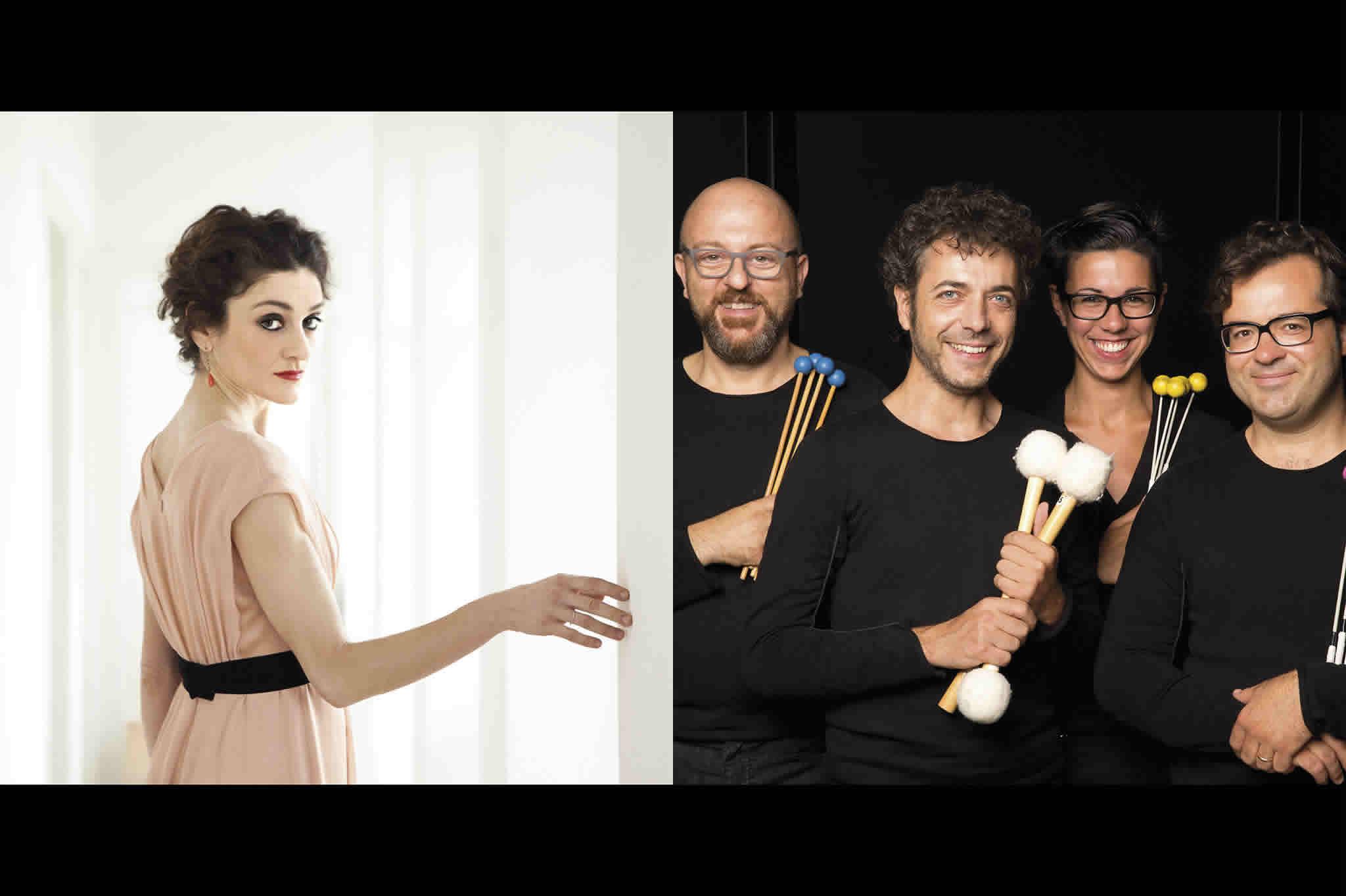 Cristina Zavalloni e Tetraktis Percussioni